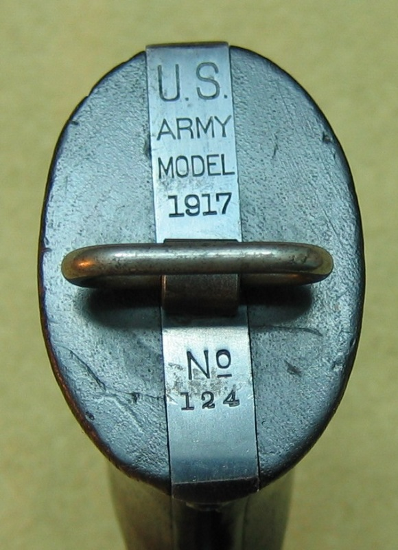Smith & Wesson M1917 No. 124 with features seen only on the earliest examples
