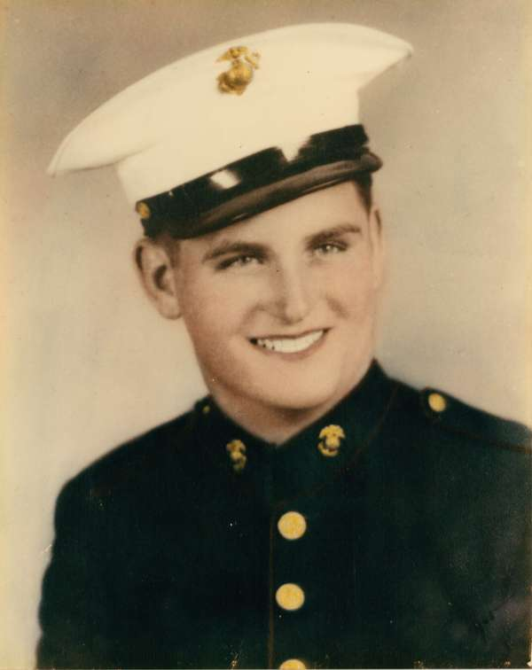 Dad Nov. 1943. He was 18.